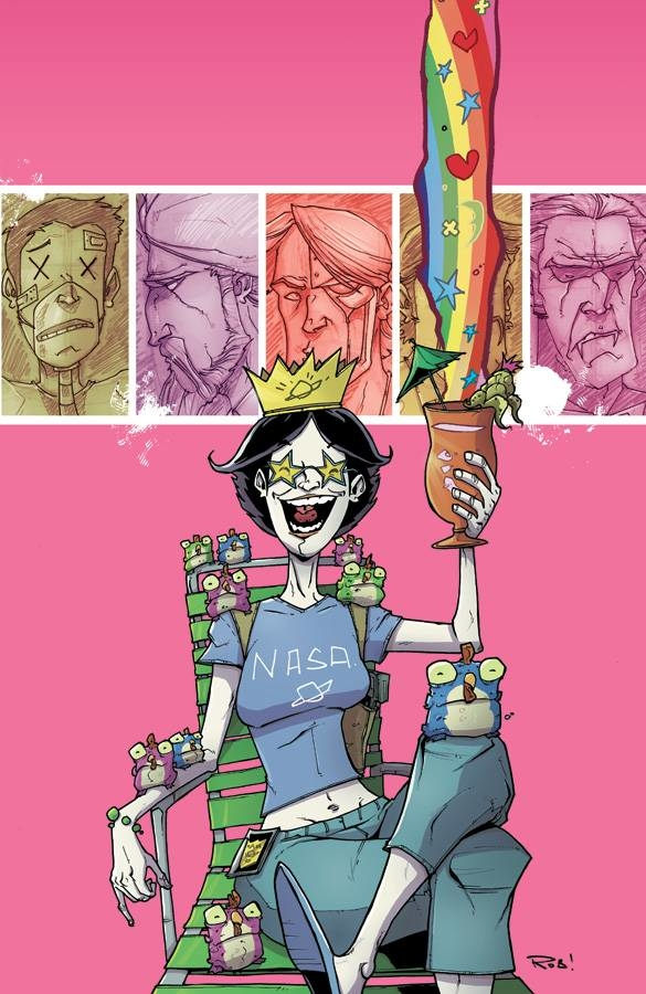 CHEW TP VOL 06 SPACE CAKES (OCT120481) (MR)