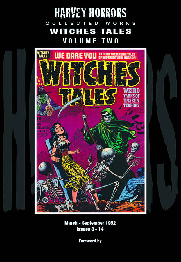HARVEY HORRORS COLL WORKS WITCHES TALES HC VOL 02