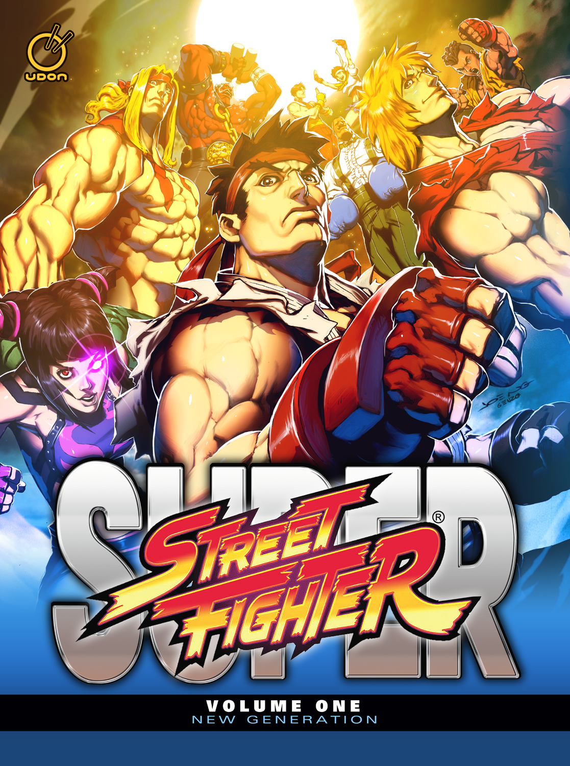 SUPER STREET FIGHTER HC VOL 01