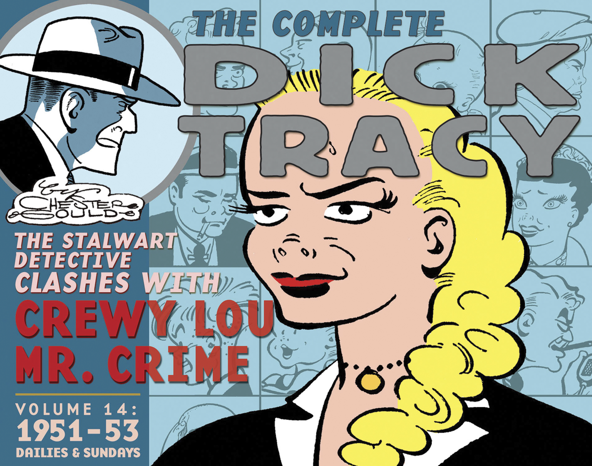 COMPLETE CHESTER GOULD DICK TRACY HC VOL 14