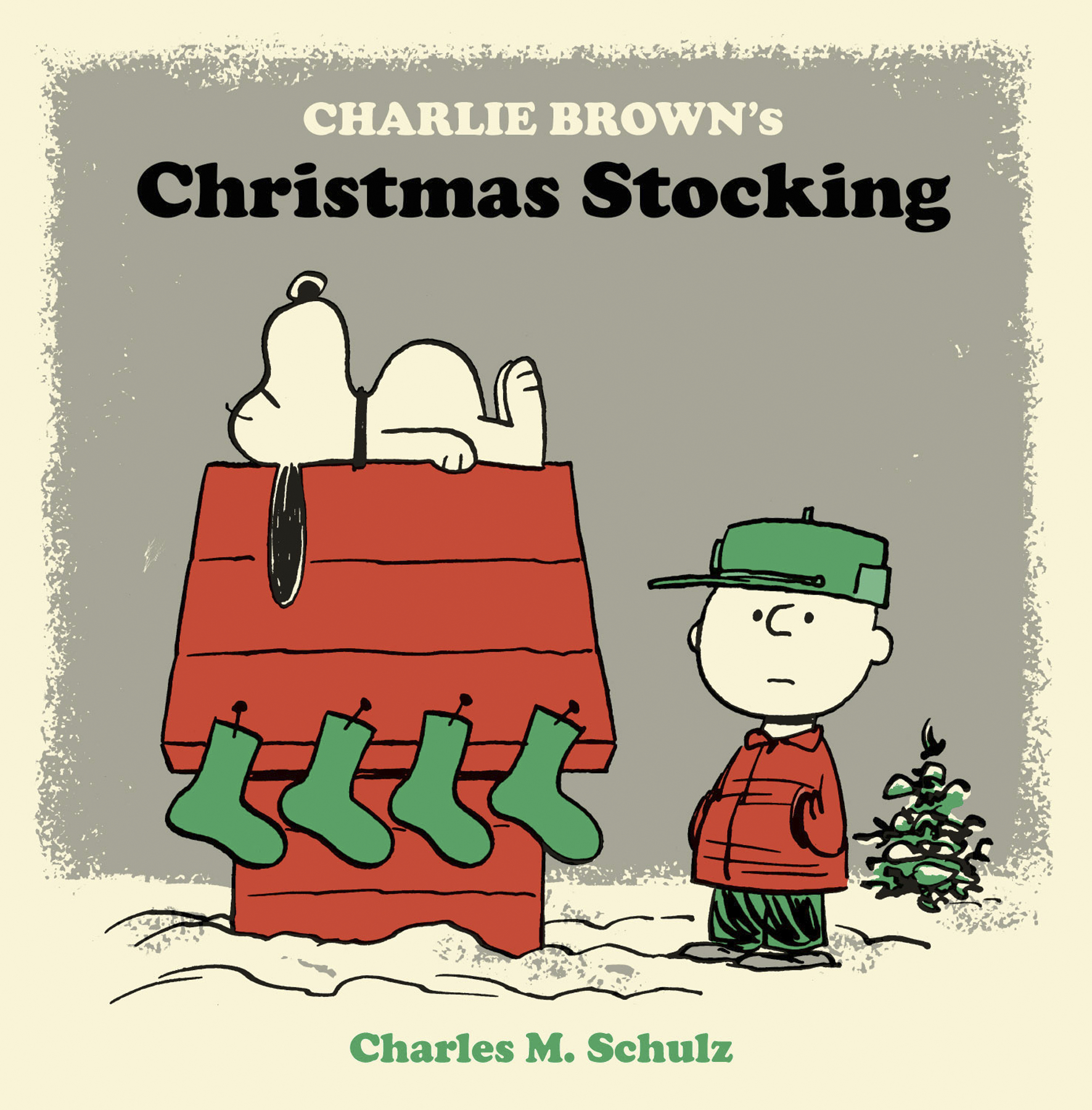 PEANUTS CHARLIE BROWN CHRISTMAS STOCKING HC