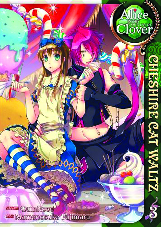 ALICE I/T COUNTRY CLOVER CHESHIRE CAT WALTZ GN VOL 03 (MR)