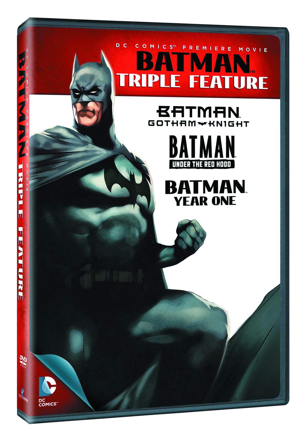 BATMAN TRIPLE FEATURE DVD