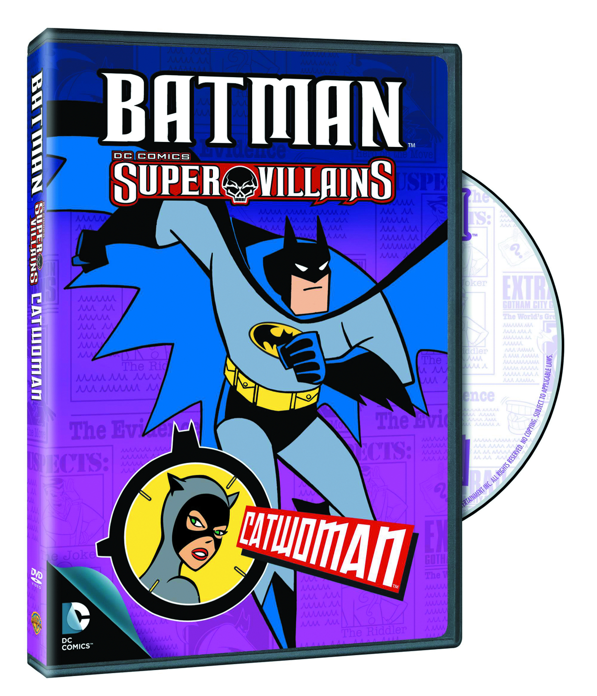BATMAN SUPER VILLAINS CATWOMAN DVD