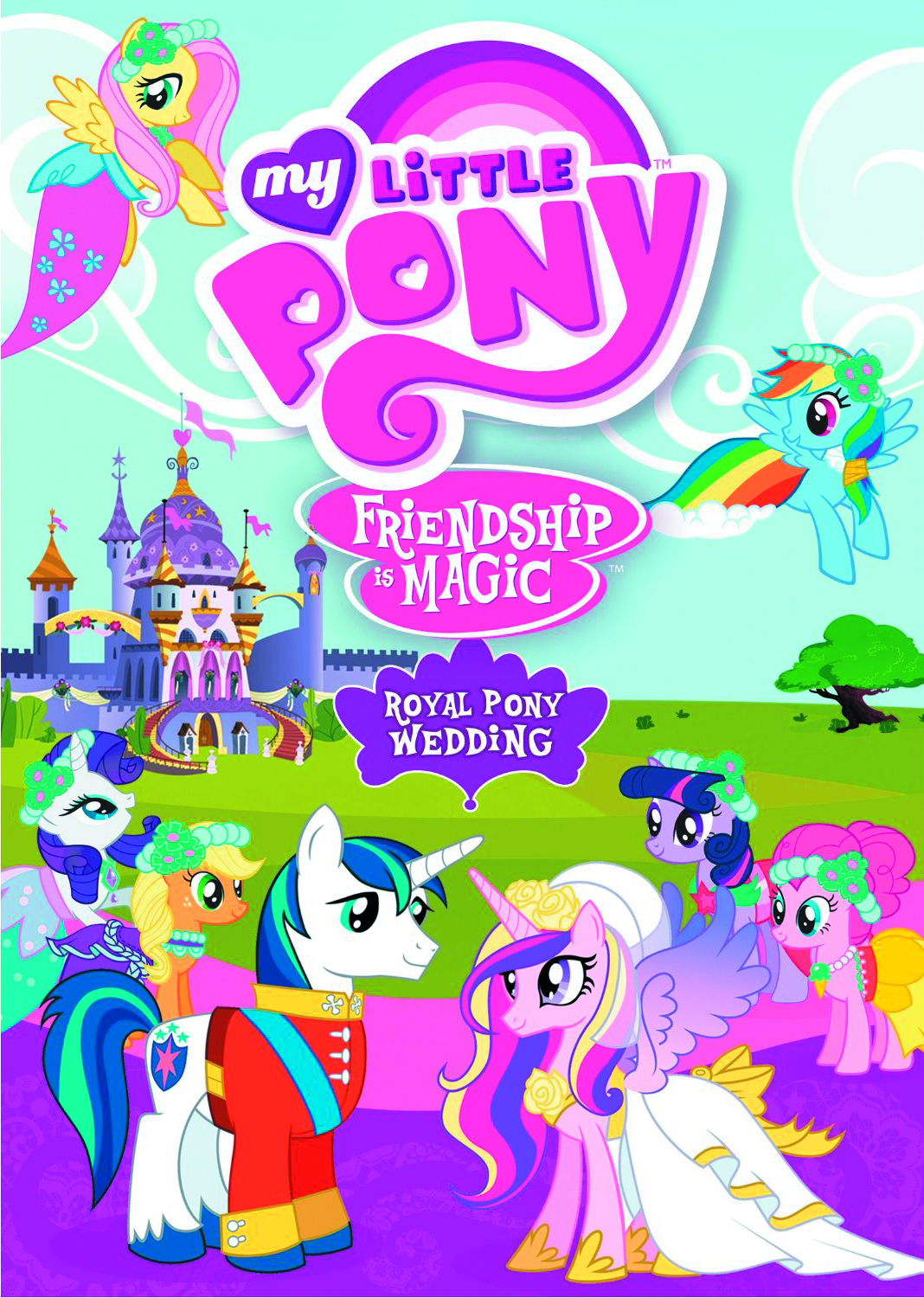 MY LITTLE PONY ROYAL PONY WEDDING DVD