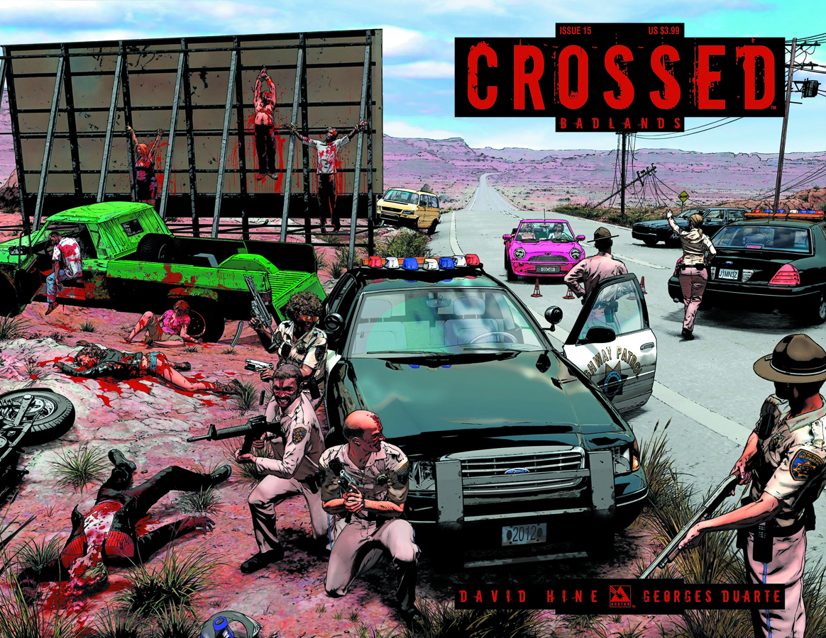 CROSSED BADLANDS #15 WRAP CVR