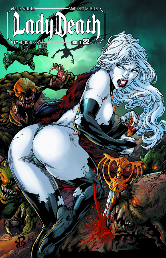LADY DEATH (ONGOING) #22