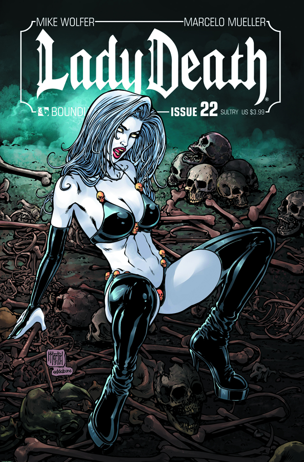 LADY DEATH (ONGOING) #22 SULTRY CVR