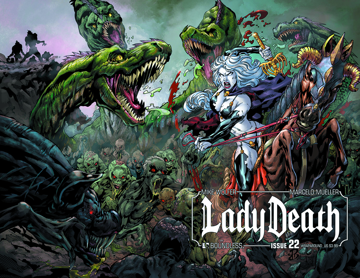 LADY DEATH (ONGOING) #22 WRAP CVR