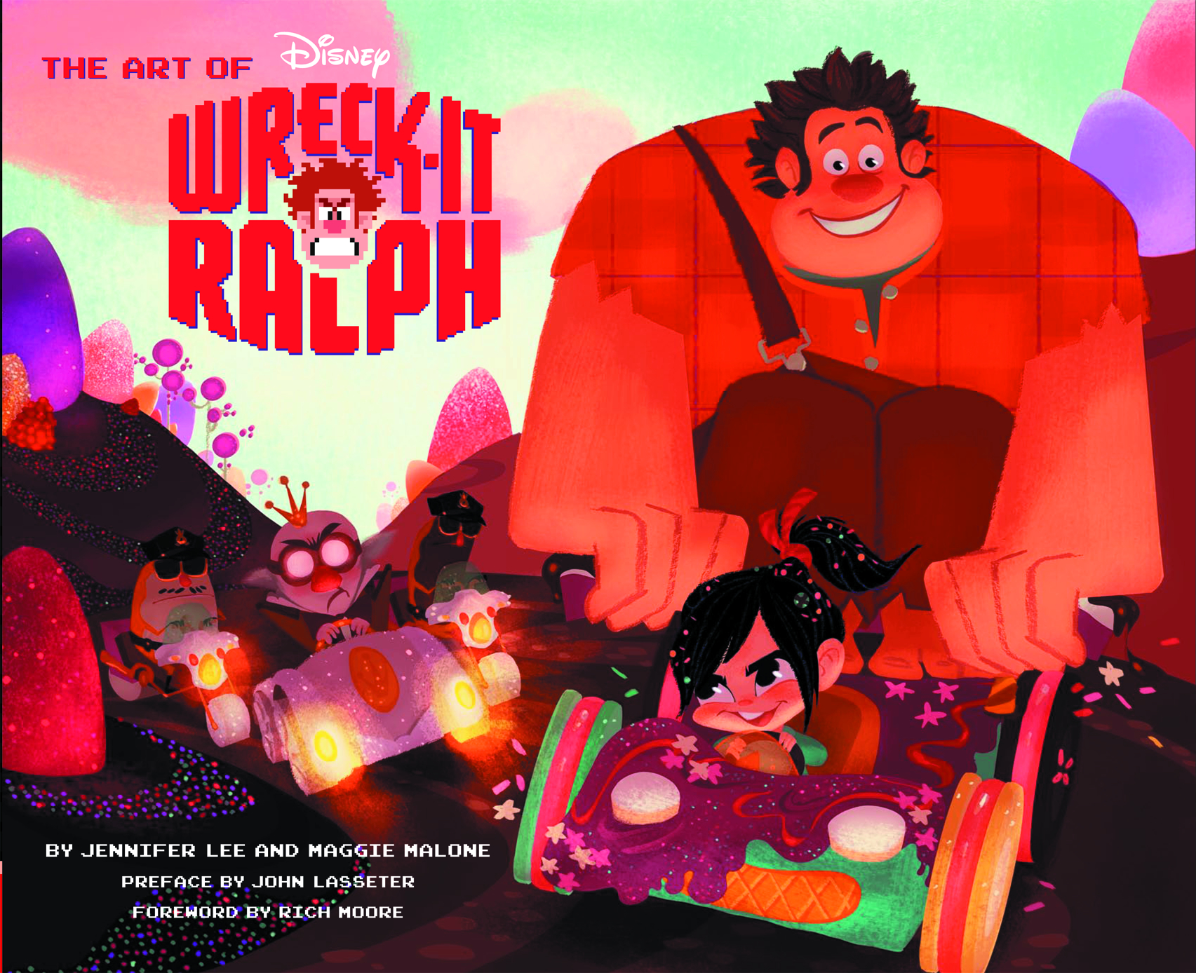 ART OF WRECK IT RALPH HC