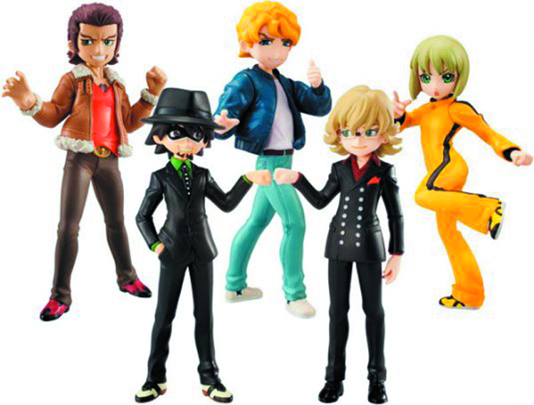 TIGER & BUNNY HALF AGE CHAR VOL 2 8PC BMB DS