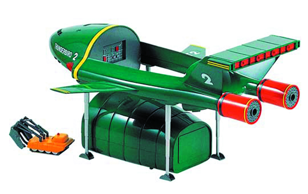 THUNDERBIRDS 2 & 4 1/350 SCALE MDL KIT