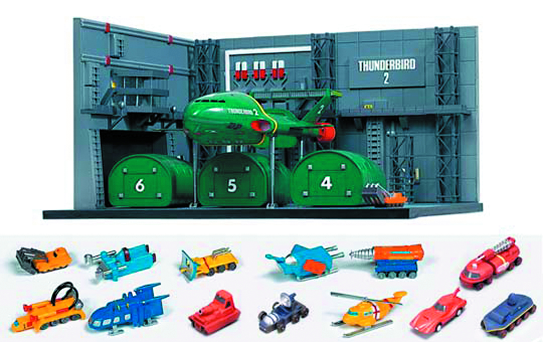 THUNDERBIRD 2 CONTAINER DOCK 1/350 SCALE MDL KIT