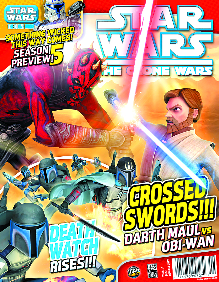 STAR WARS CLONE WARS MAGAZINE #14