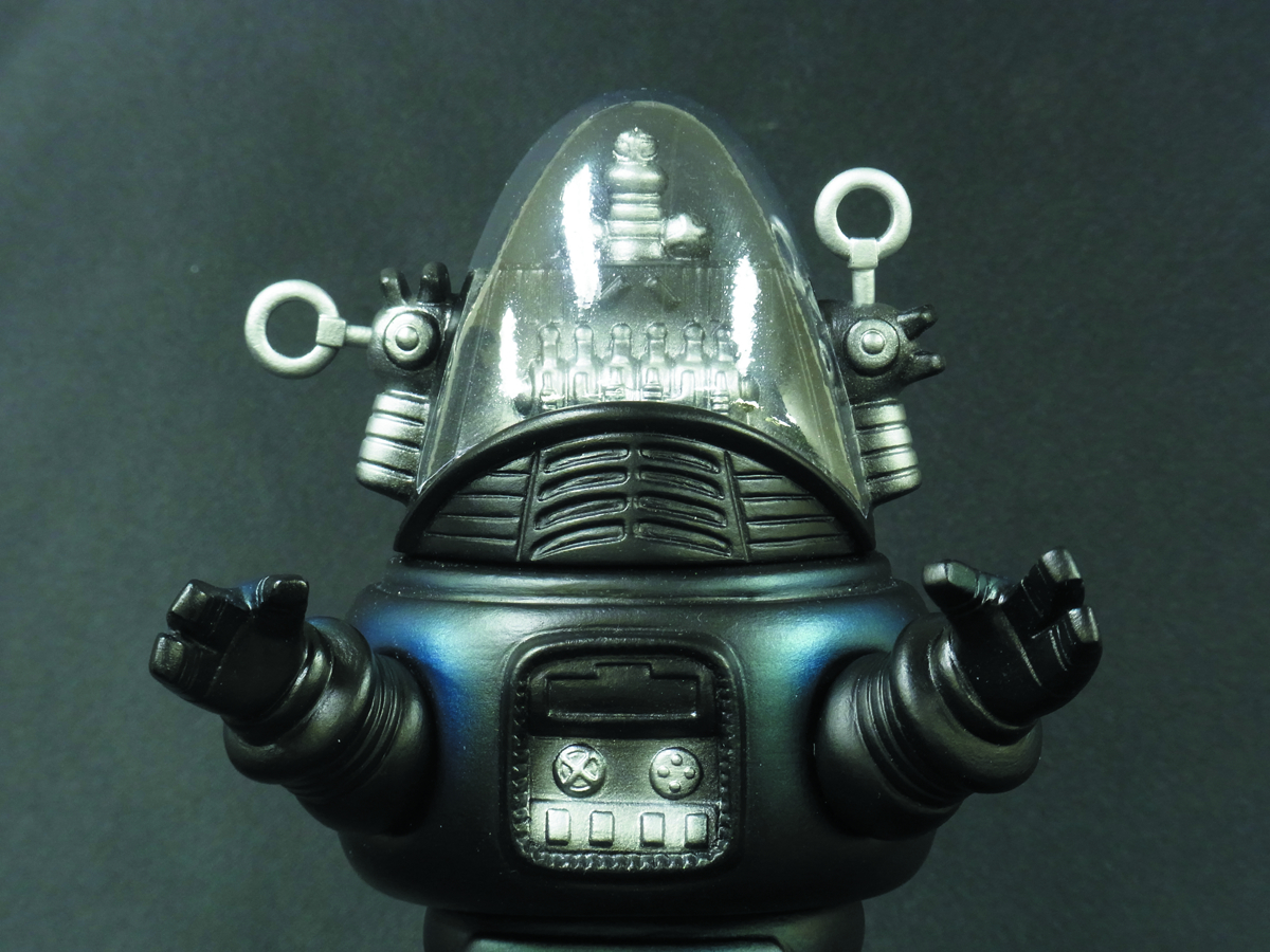FORBIDDEN PLANET ROBBY THE ROBOT 9IN SD PVC FIG