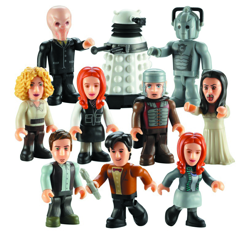 DOCTOR WHO CHAR BUILDING 36PC MINI FIG DS SER 02