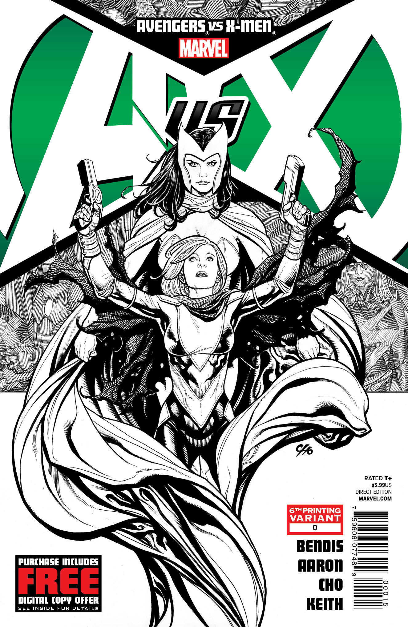 AVENGERS VS X-MEN #0 (OF 12) 6TH PTG CHO VAR AVX (PP #1029)
