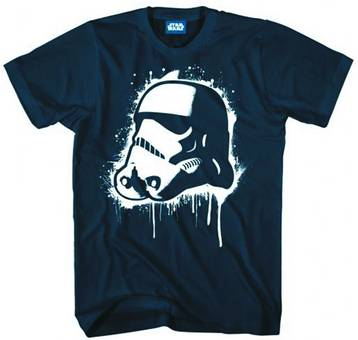 SW POP TROOPER PX NAVY T/S XXL