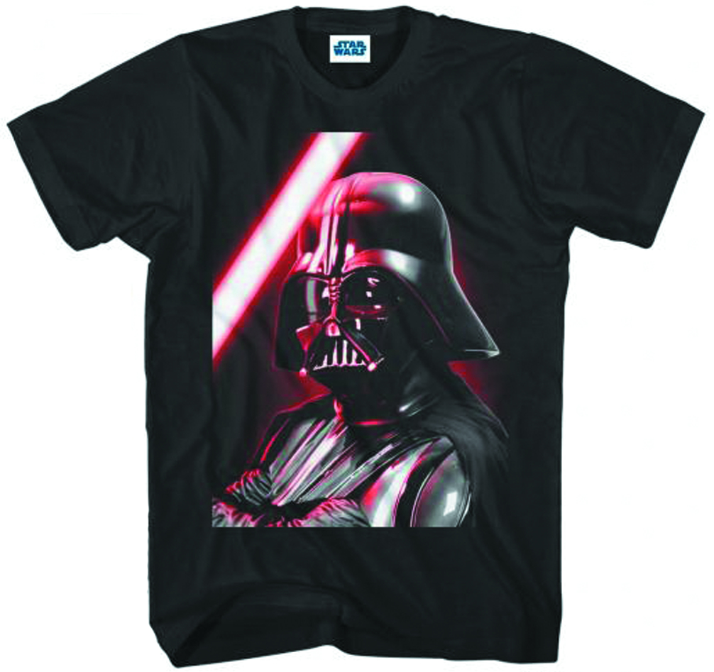 SW VADER CLOSE & PERSONAL BLK T/S XXL