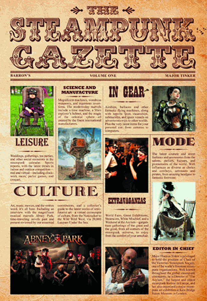 STEAMPUNK GAZETTE HC