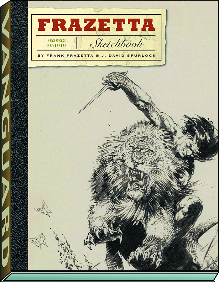 FRAZETTA SKETCHBOOK HC