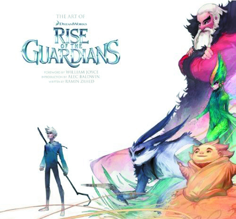 ART OF RISE OF THE GUARDIANS HC