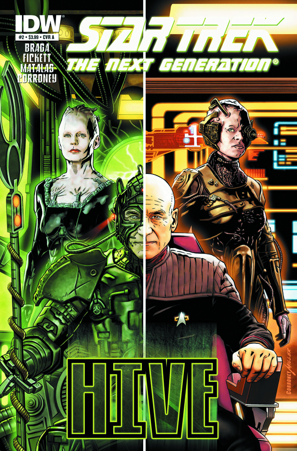 STAR TREK NEXT GENERATION HIVE #2