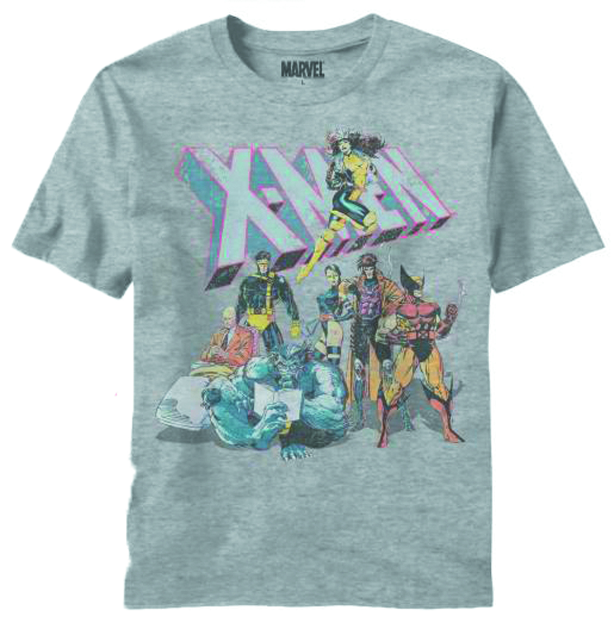 X-MEN INTERMISSION HEATHER T/S XL