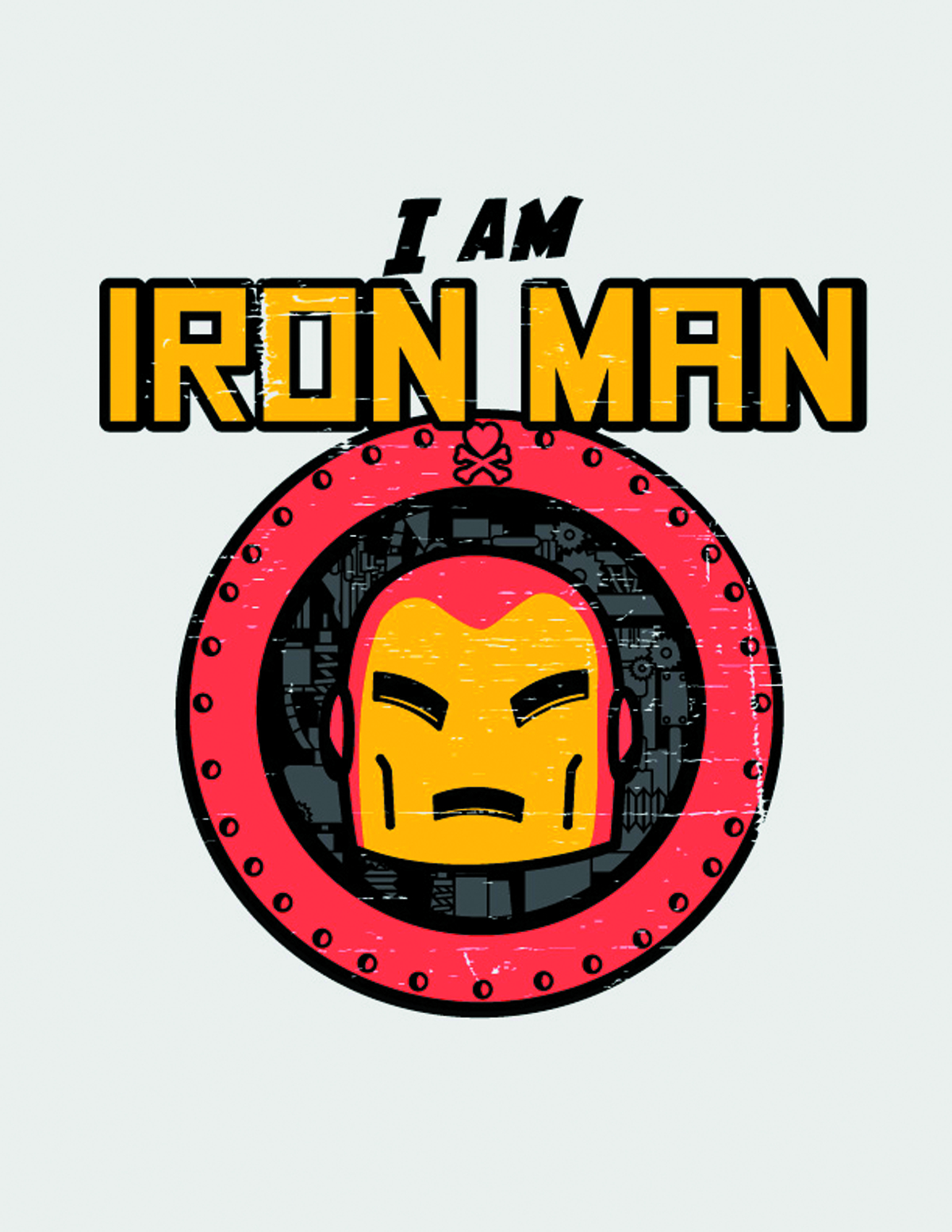 AUG121753 - MARVEL X TOKIDOKI IM IRON MAN T/S MED - Previews