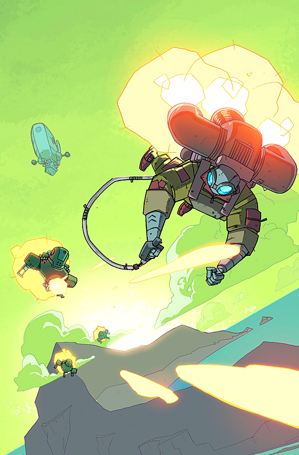 ATOMIC ROBO FLYING SHE DEVILS O/T PACIFIC #5