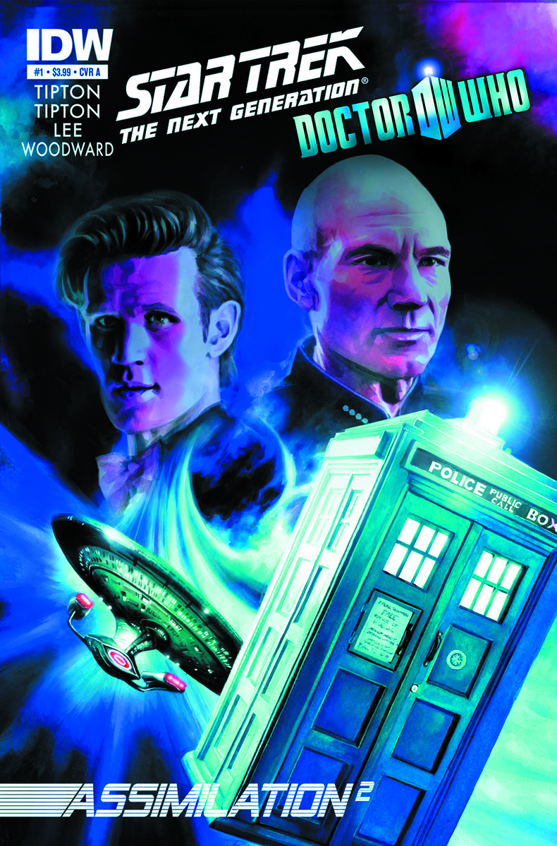 STAR TREK TNG DOCTOR WHO ASSIMILATION #1 3RD PTG