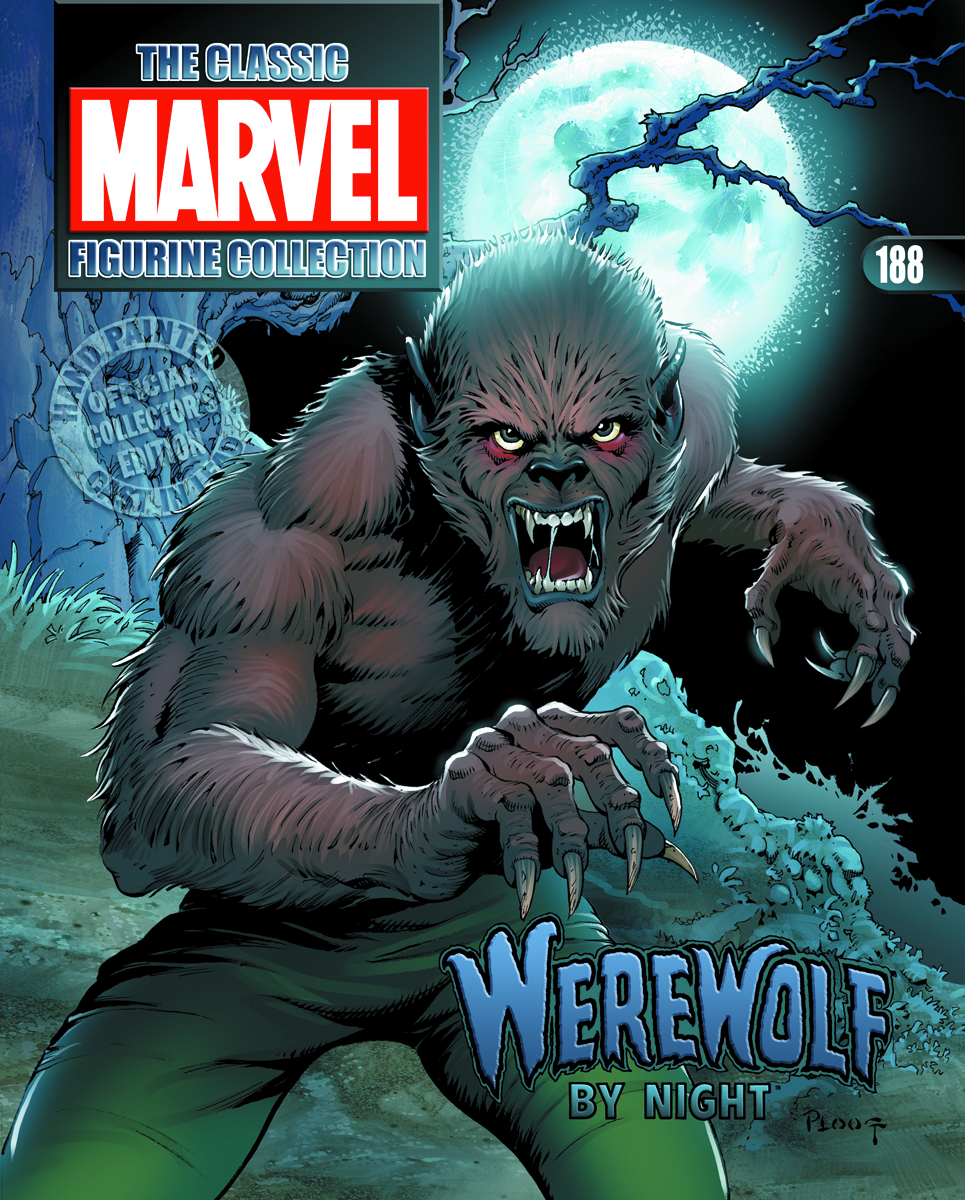 CLASSIC MARVEL FIG COLL MAG #188 WEREWOLF BY NIGHT