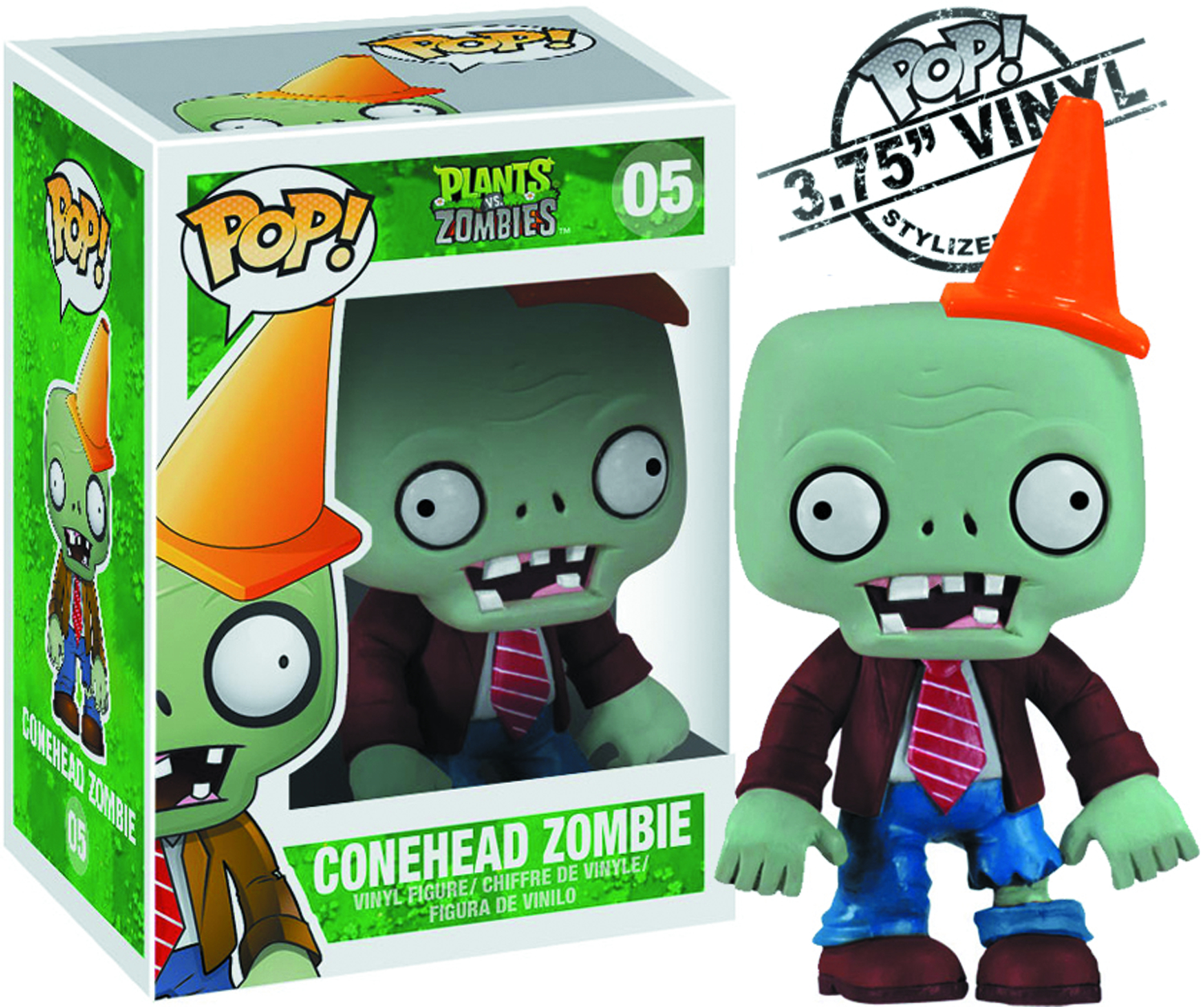 POP PLANTS VS ZOMBIES CONEHEAD FIG