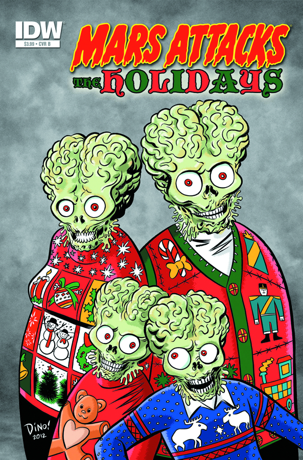 MARS ATTACKS HOLIDAYS ONE SHOT
