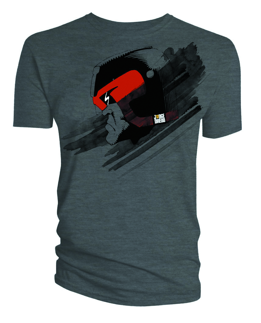 JUDGE DREDD DREDD HEAD T/S MED
