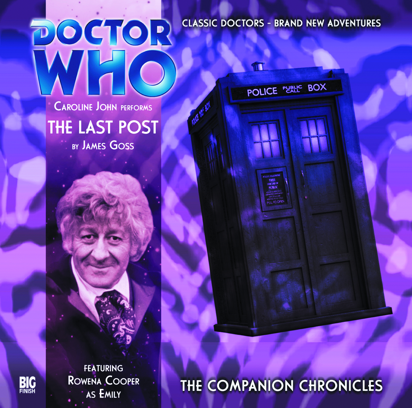 DOCTOR WHO COMPANION CHRON LAST POST AUDIO CD