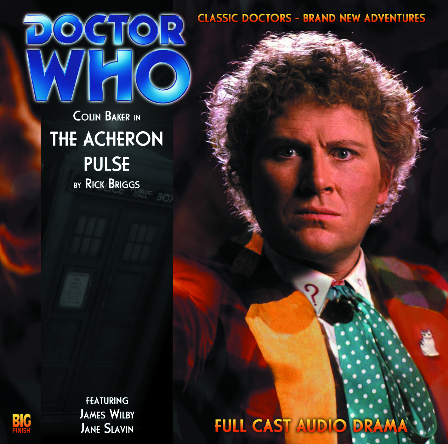 DOCTOR WHO ACHERON PULSE AUDIO CD