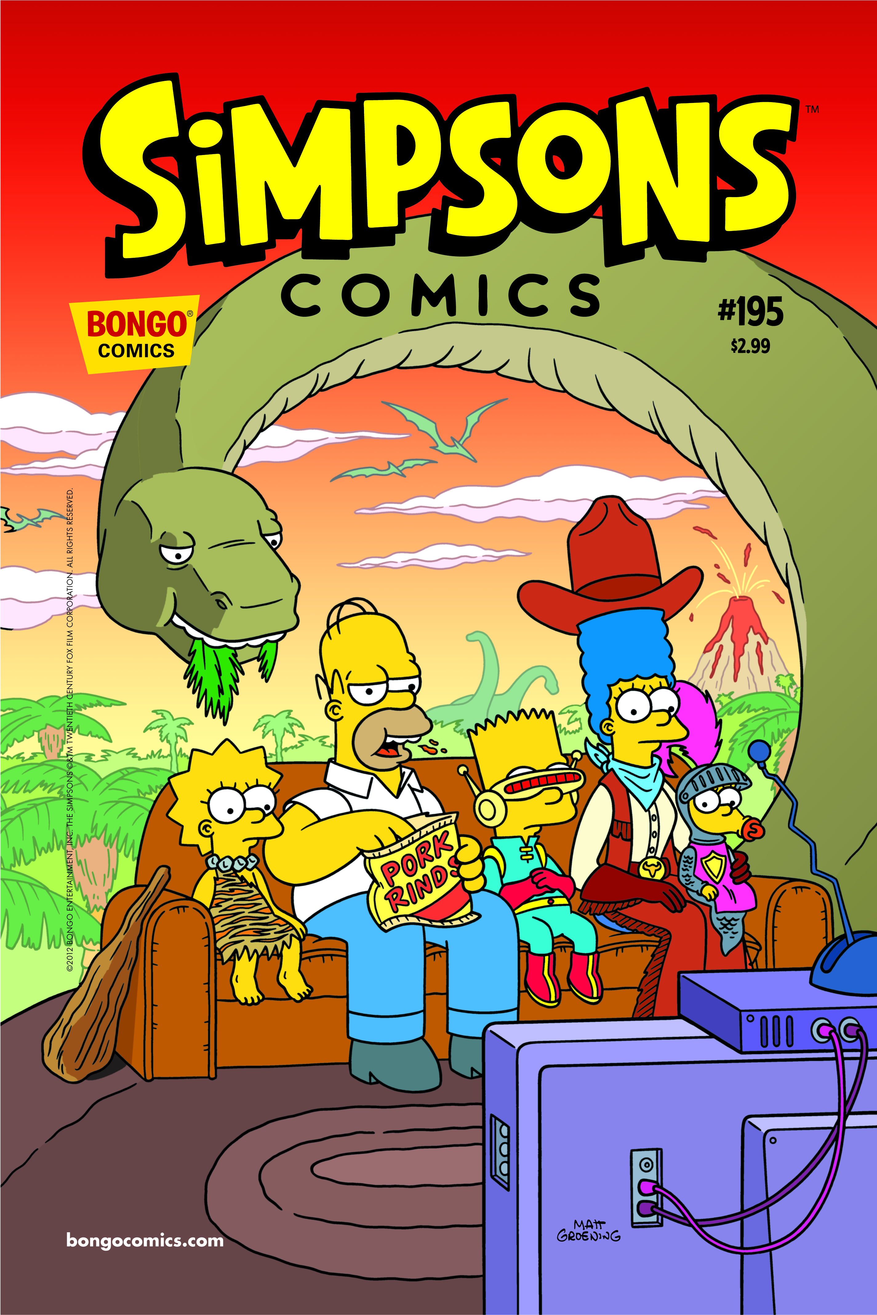 SIMPSONS COMICS #195