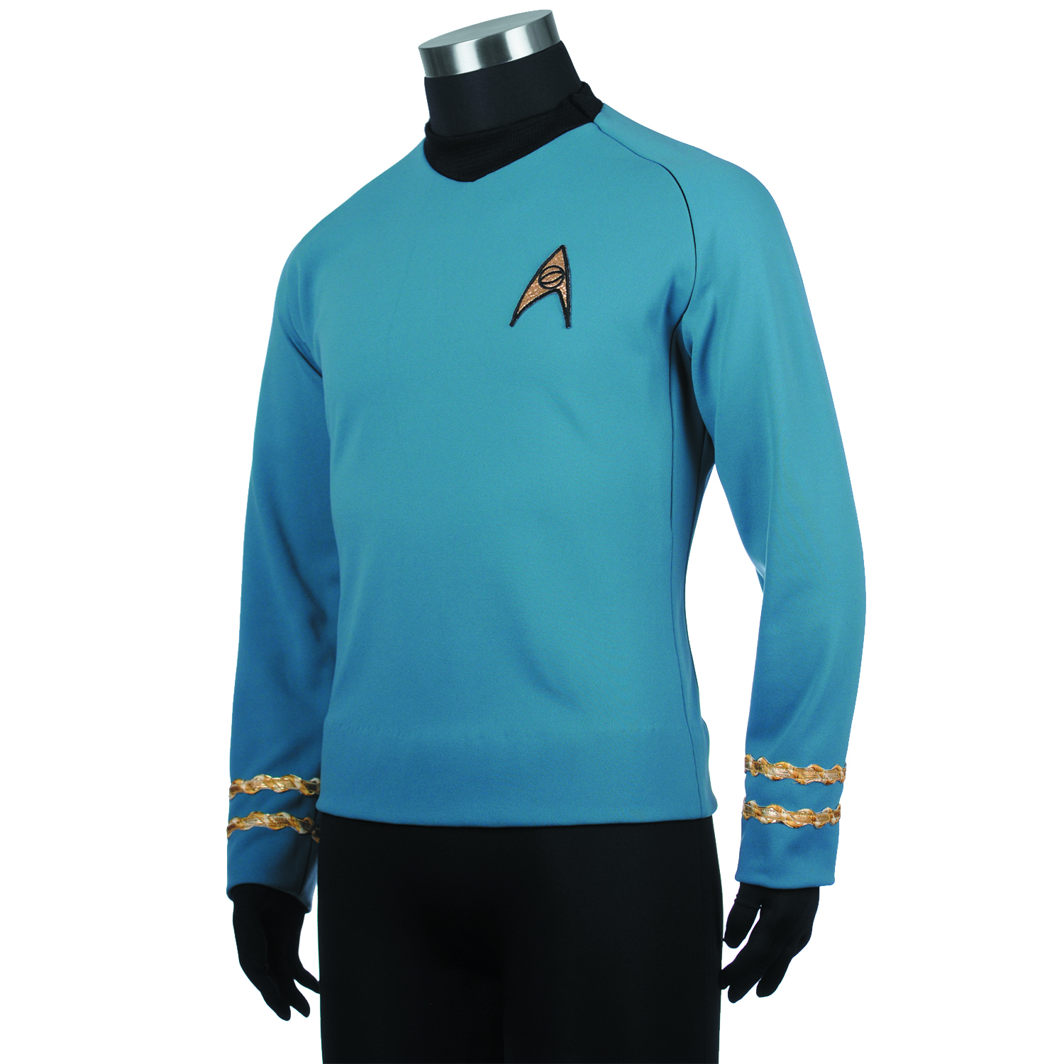 ST TOS SPOCK REPLICA TUNIC LG