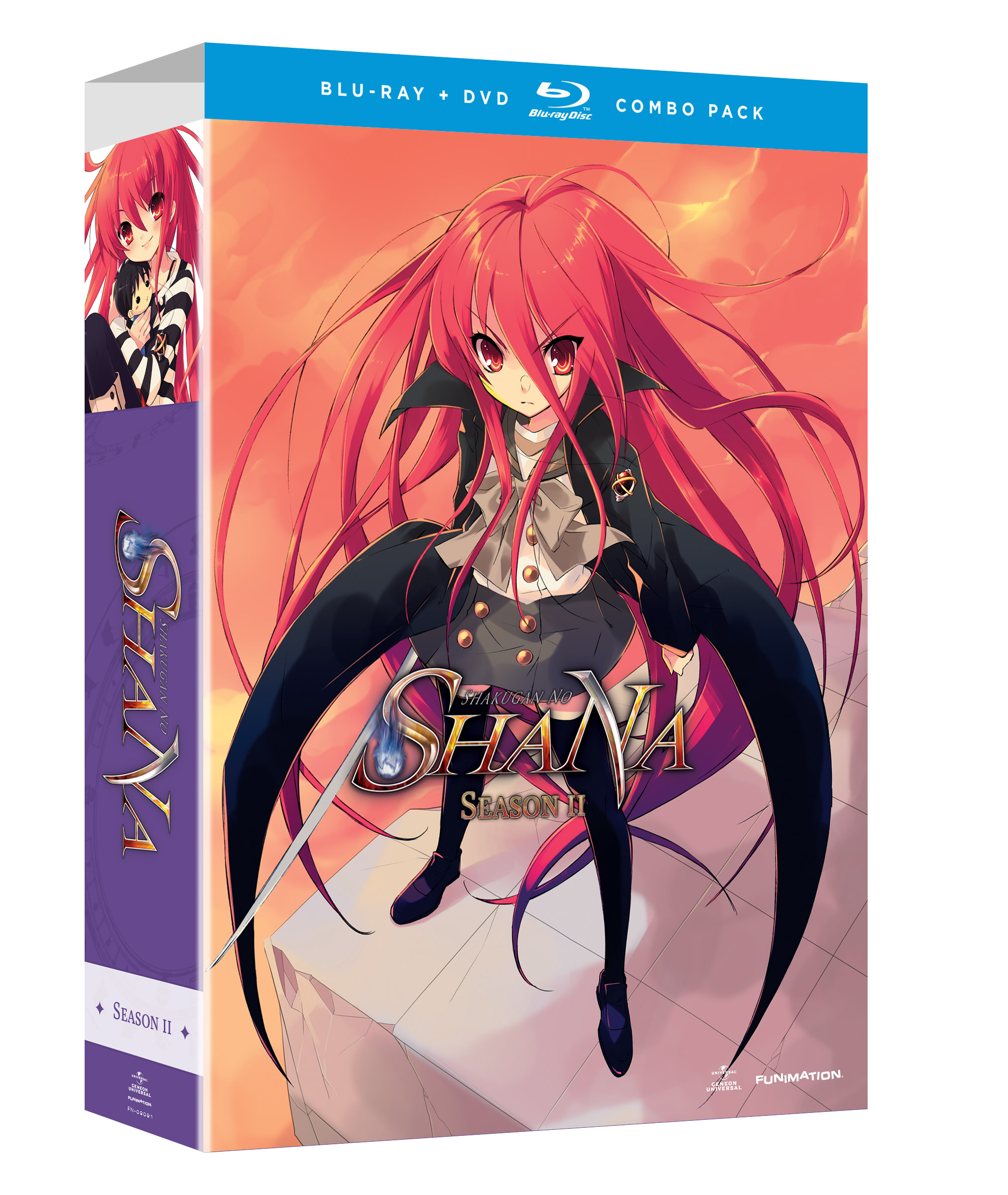 SHAKUGAN NO SHANA BD + DVD SEA 02 PT 1