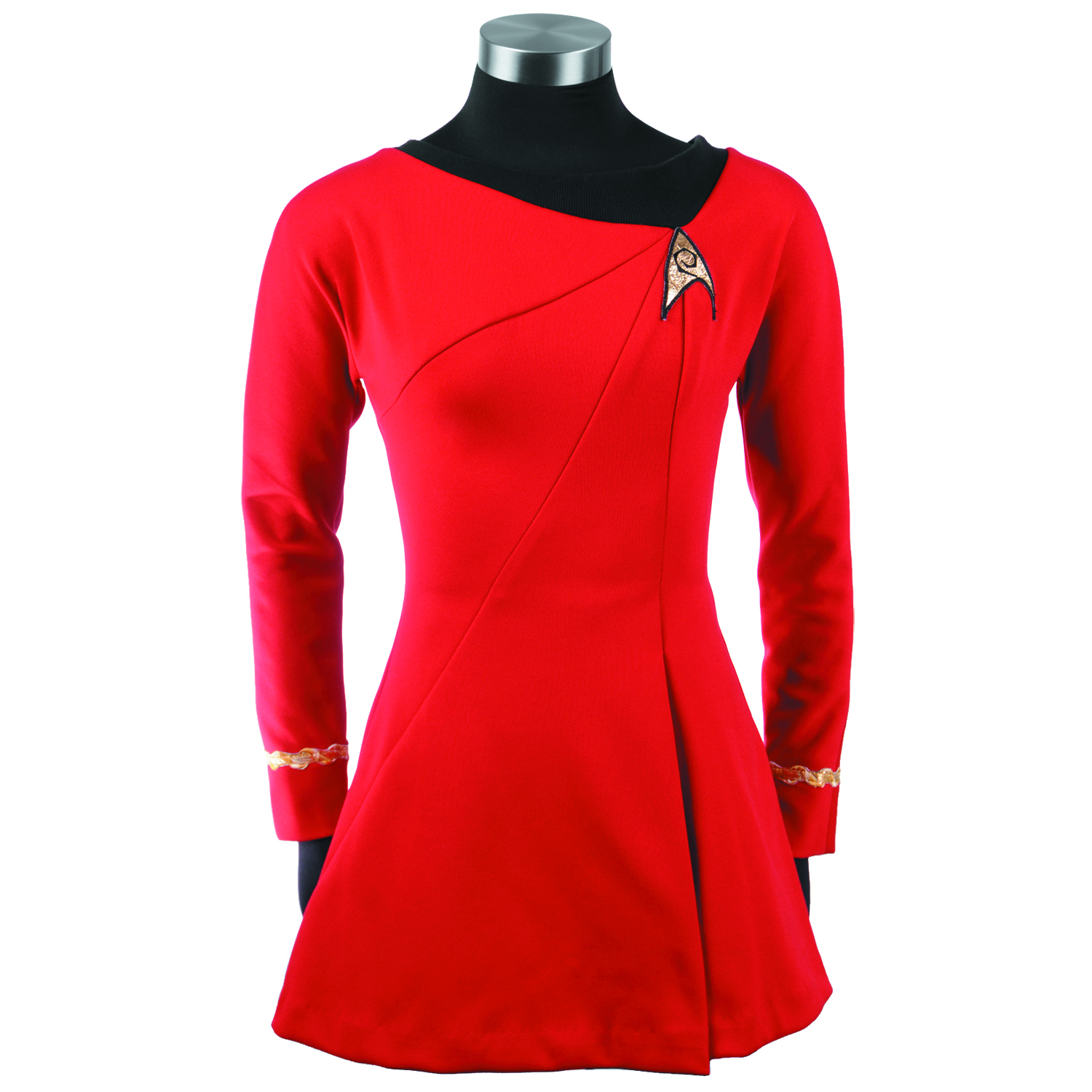 ST TOS UHURA REPLICA DRESS MED