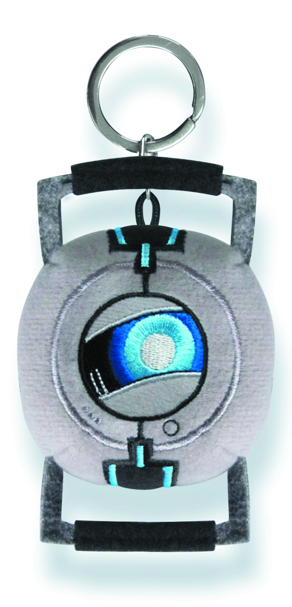 PORTAL 2 WHEATLEY PLUSH KEY CHAIN