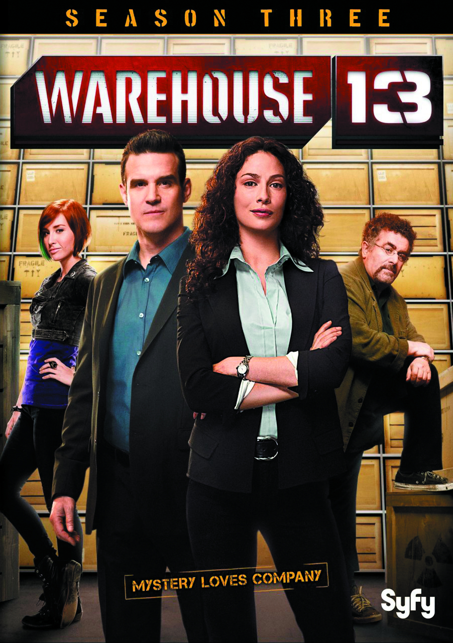 WAREHOUSE 13 SEASON 3 T/C PREMIUM PACK