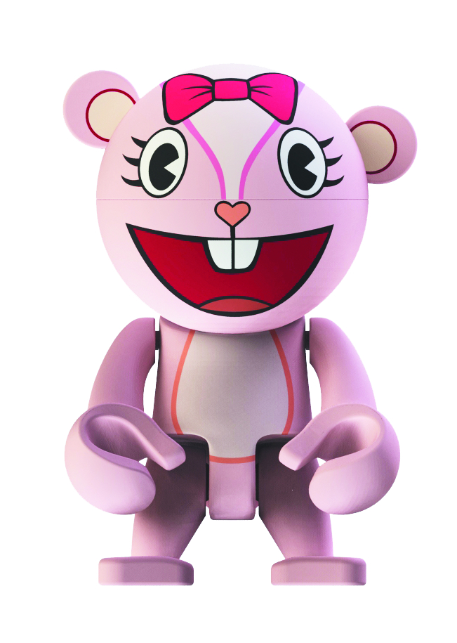 HAPPY TREE FRIENDS GIGGLES TREXI VINYL FIG