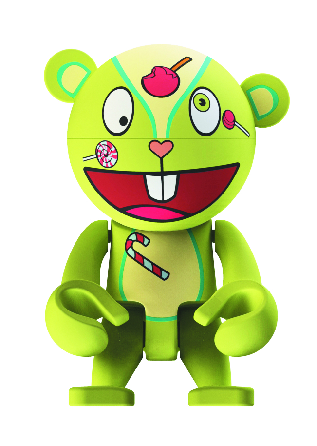 HAPPY TREE FRIENDS NUTTY TREXI VINYL FIG
