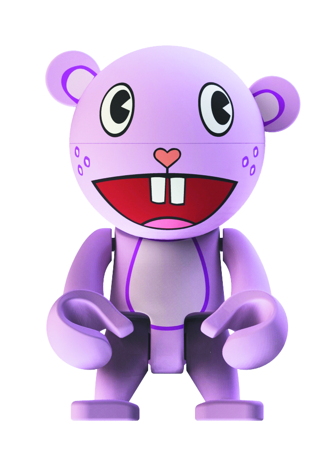 HAPPY TREE FRIENDS TOOTHY TREXI VINYL FIG