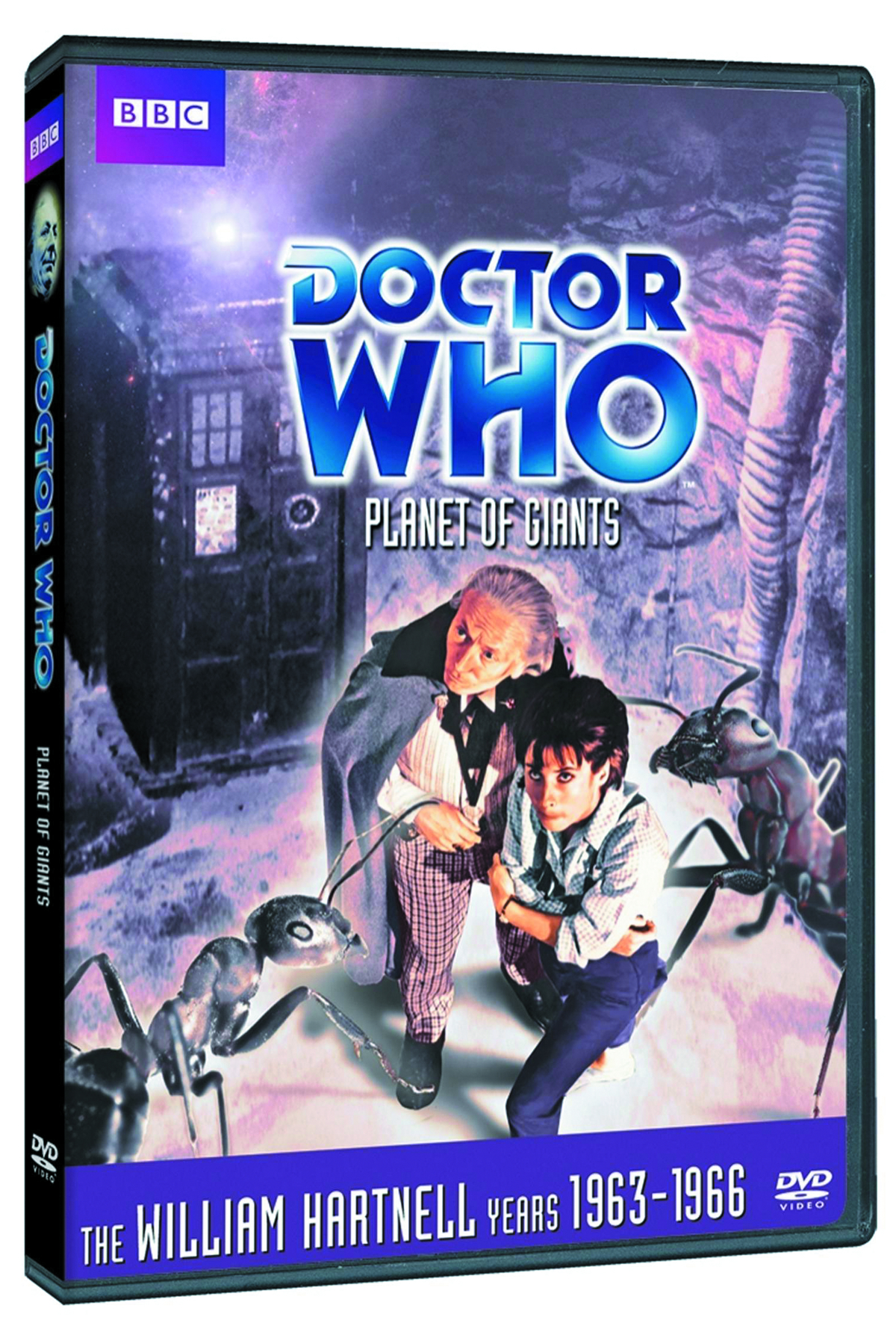 DOCTOR WHO PLANET OF GIANTS DVD