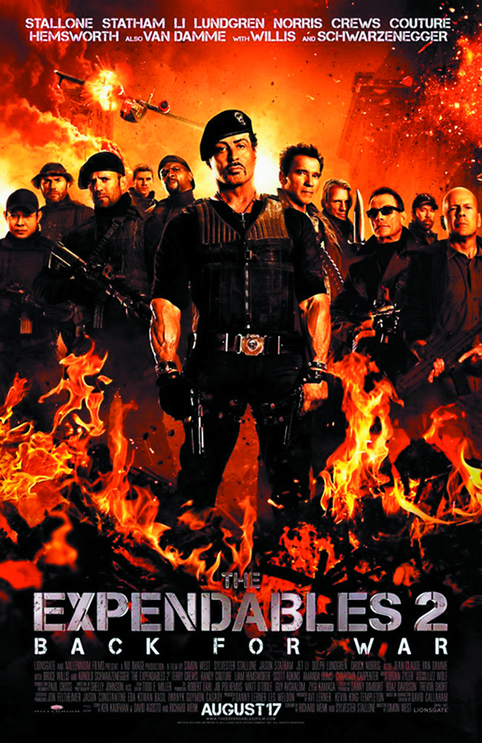 EXPENDABLES 2 BD