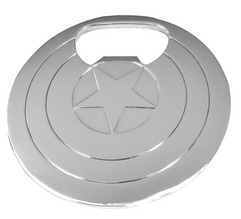 MARVEL CAPT AMERICA SHIELD BOTTLE OPENER