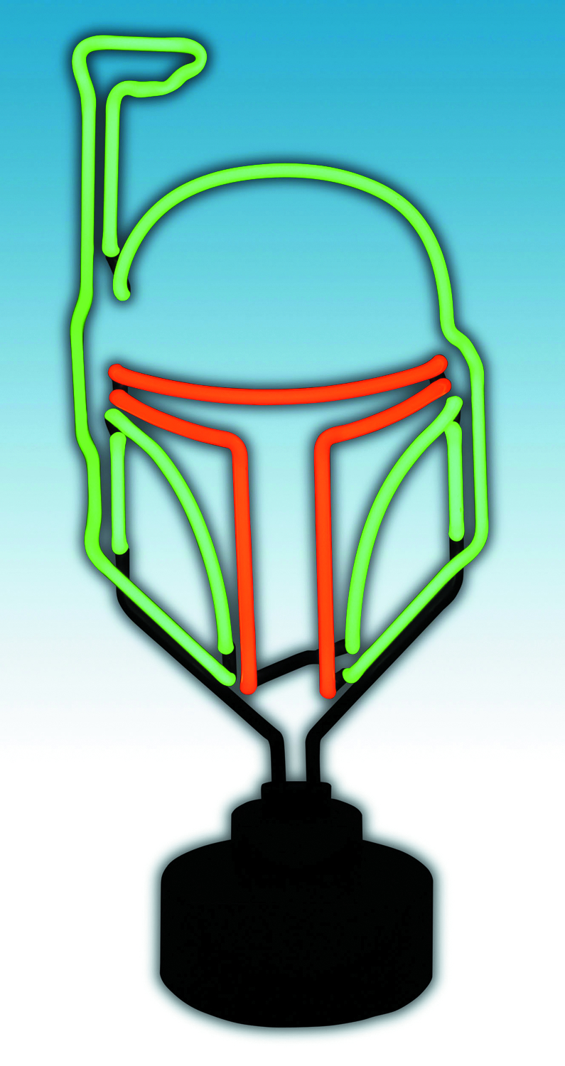 STAR WARS BOBA FETT NEON SIGN